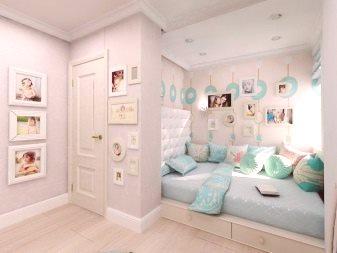 Projekt Sypialni 17 M² M 74 Zdjęcia Projekt Wnętrza