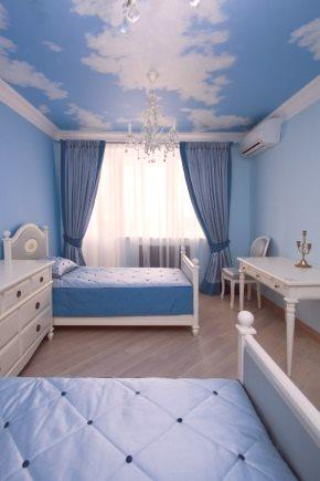 Niebieskie Tapety W Sypialni 29 Zdjęć Wystrój Wnętrz W