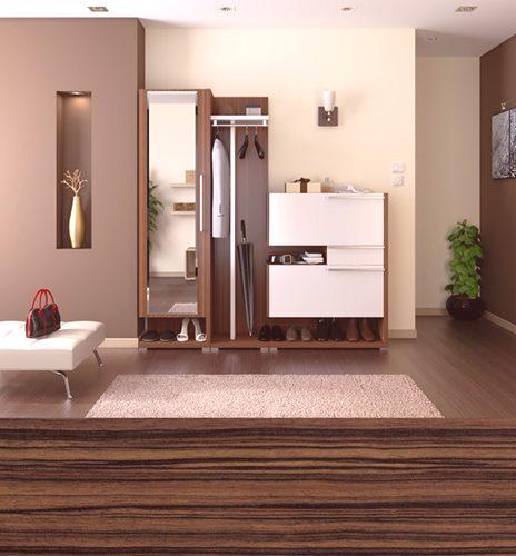 9d32f3e57de0 Nábytok pre predsieň v modernom štýle  8 interiérov - Oprava bytu ...