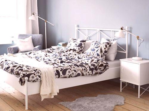 Cechy Kute łóżka Ikea 16 Zdjęć Białe I Czarne Modele Z