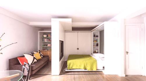 Salon Sypialnia 136 Zdjęć Wnętrze Pokoju Połączonego