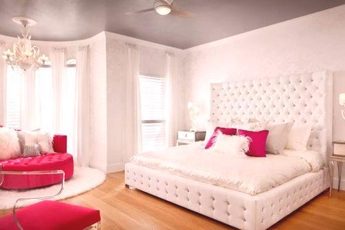 45a1577c8599 Biela manželská posteľ (51 fotografií)  kovová a drevená
