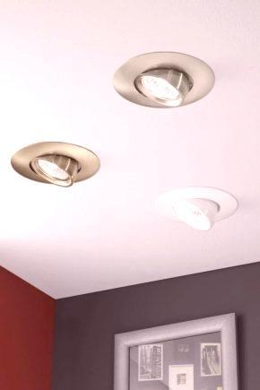 Wbudowane Lampy Sufitowe 65 Zdjęć Wbudowane Oświetlenie