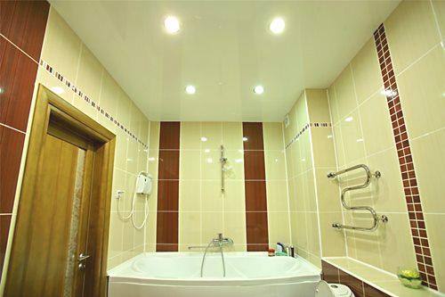 Sufit W łazience Opcje I Technologia Projektowania