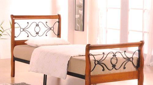 0323da0c8611d Drevené jednolôžkové postele: borovicové drevené modely 90x190 cm a 90x200  cm