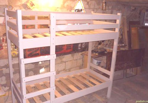 łóżko Piętrowe Własnymi Rękami Naprawa Mieszkania Własnymi