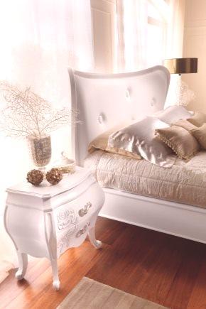 Szafki Nocne Na Sypialnie 49 Zdjęć Białe Poduszki