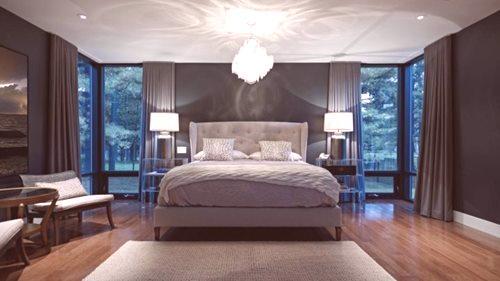 Lampy Na Suficie W Sypialni 31 Zdjęć Położenie We Wnętrzu