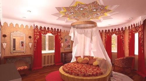 Sypialnia W Stylu Orientalnym 48 Zdjęć Wnętrza W Stylu