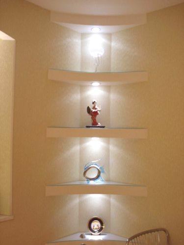 Półki Z Płyt Gipsowych Naprawa Mieszkania Własnymi Rękami