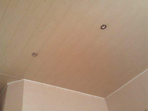 Sufit W Kuchni Z Plastikowych Paneli Naprawa Mieszkania