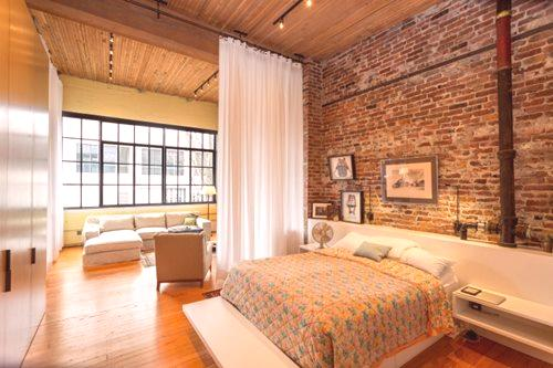 Sypialnia W Stylu Loft 97 Zdjęć Projekt I Wystrój Małej