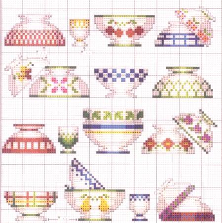Wspaniały Różne wzory krzyżyków do haftu do kuchni: 6 pomysłów - Naprawa AU15